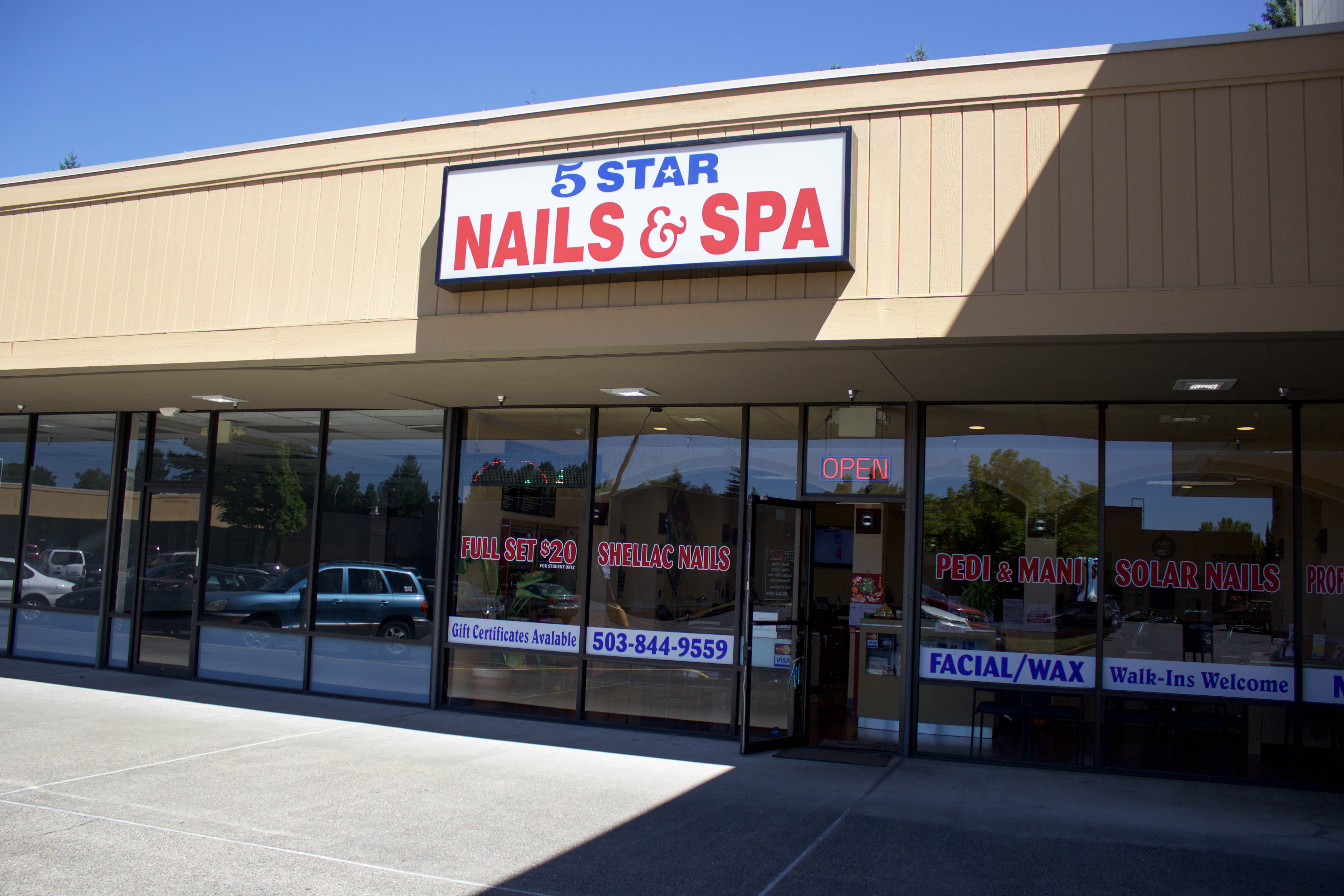 About – 5 Star Nails & Spa